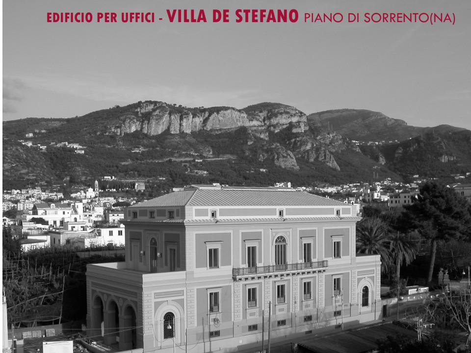 Restauro MSC Villa De Stefano