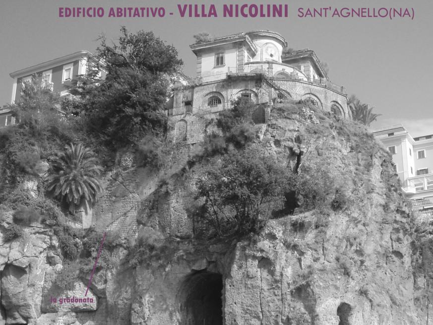 Recupero Villa Nicolini S.Agnello