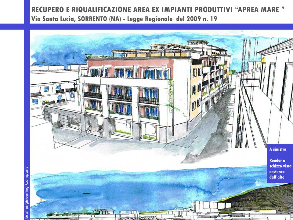 Recupero e riqualificazione area ex impianti produttivi Aprea Mare