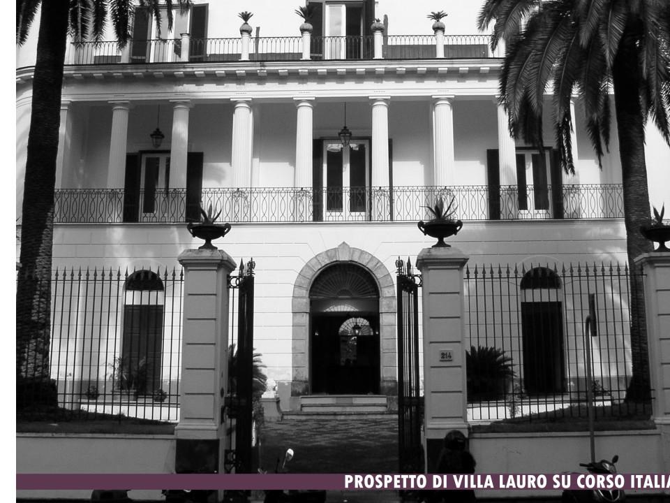 Restauro Villa Lauro