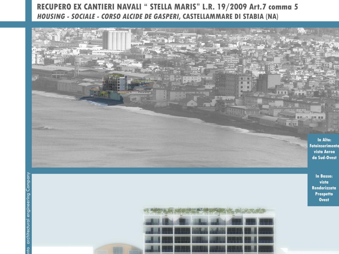 Recupero ex cantieri navali Stella Maris Castellammare di Stabia
