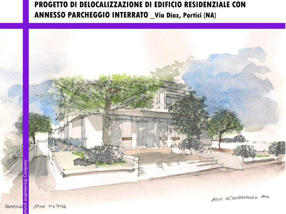 Delocalizzazione edificio residenziale con parcheggio privato Portici