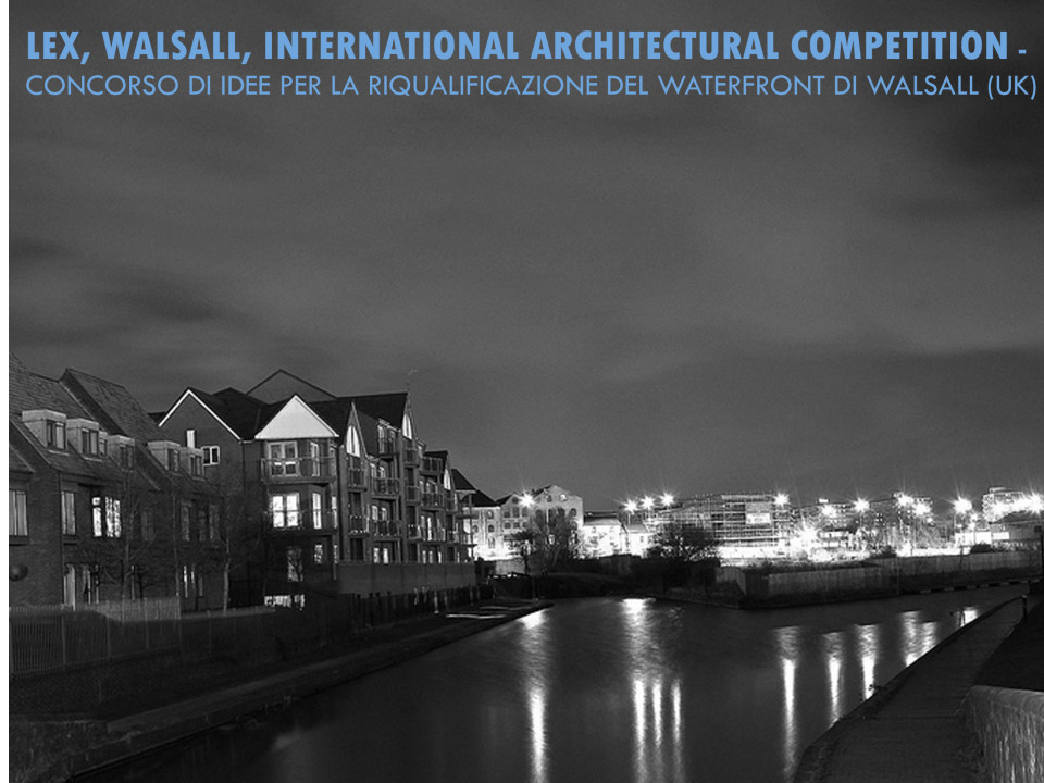 Lex, Walsall, International architectural competition