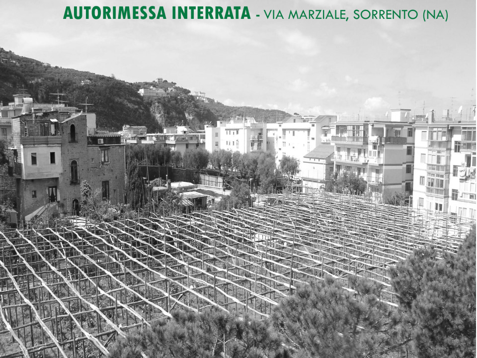 Autorimessa interrata Sorrento