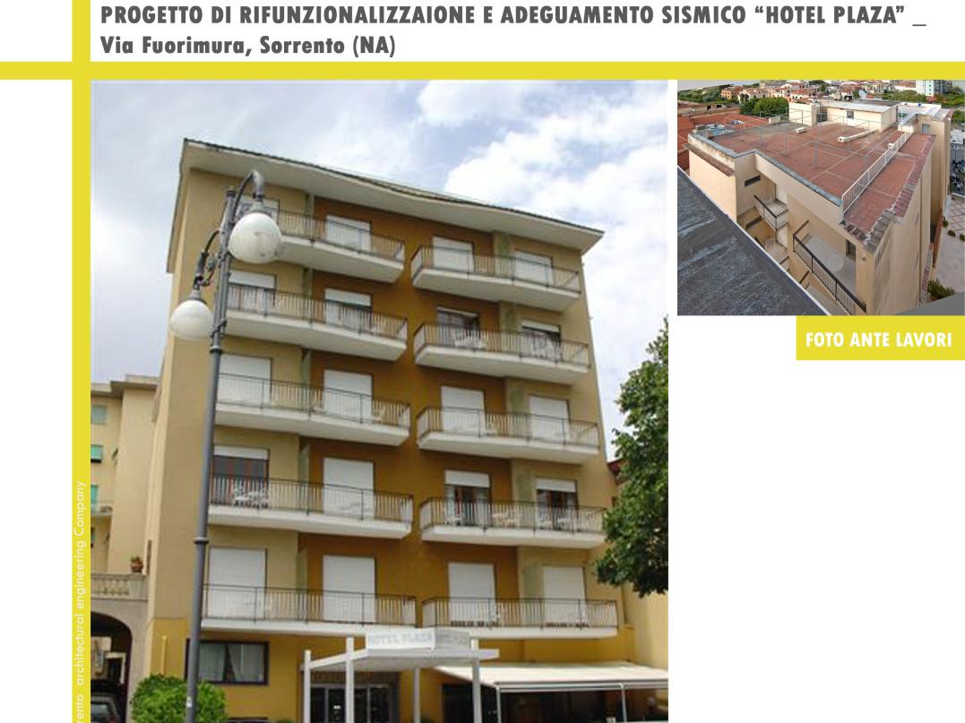 Rifunzionalizzazione e adeguamento sismico Hotel Plaza